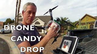 Drone Parachute Candy Drop - flown with DragonLink