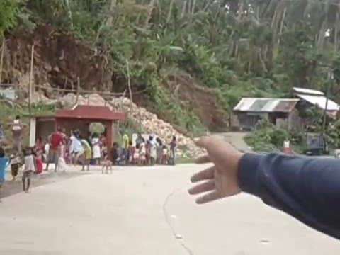 Magtaon News Report in Typhoon Ruby Part 1
