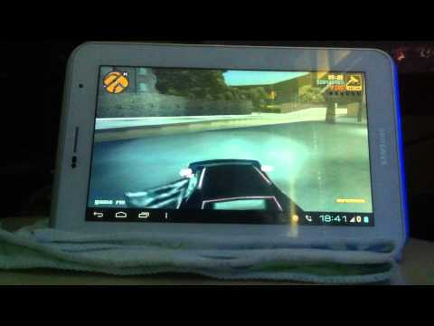 Samsung Galaxy Tab 2 7.0 Gta 3 with Ps3 Controller 2*