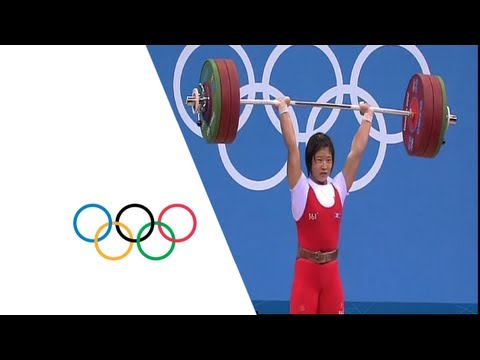 Weightlifting Women's 69kg Group A -Rim wins Gold - London 2012 Olympic Games Highlights