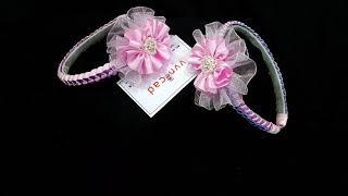 Điểm hoa lên tóc vvncad handmade 😘😍😗