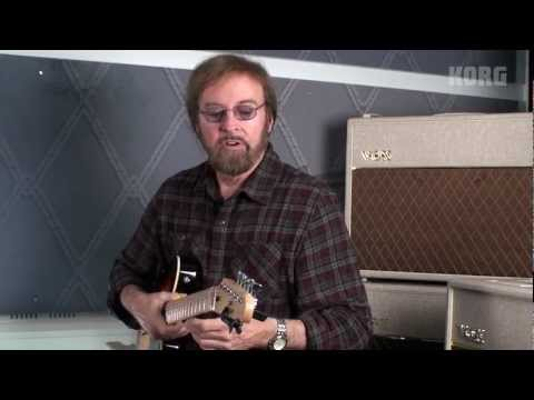 Guitarist Jerry Donahue demonstrates the KORG PitchClip Guitar Clip-On Tuner