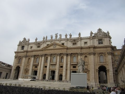 Saint Peter's Basilica, the world's largest church, Vatican city,Rome,Italy