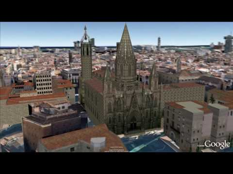 3D Barcelona in Google Earth
