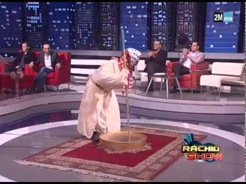 """عرض مميز لعادل الكرعة وهو يرقص فوق القعدة...في """"رشيد شو"""" thumbnail"""