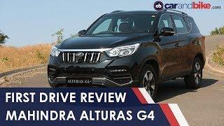 Mahindra Alturas G4 First Drive Review | NDTV carandbike