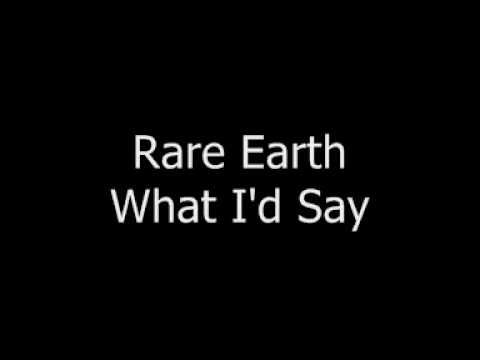 Rare Earth - Whatd I Say