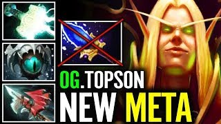 "WTF?!  ""Q"" + ""W"" NEW STYLE + NEW META  Invoker NO DMG still Strong - OG.Topson invoker GOD"