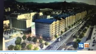 Servizio del TG Regione sul Festival Architettura in città allestito con Drytec®