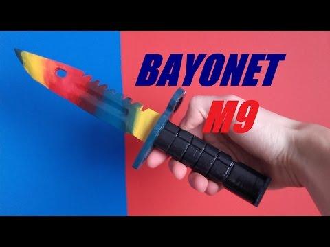 Jak Zrobić Bayonet M9 Marble Fade CS GO / How To Make Bayonet M9 Marble Fade