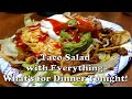 Absolute Best Taco Salad I Have Ever Eaten is What's for Dinner Tonight   Ground Beef   Enjoy!