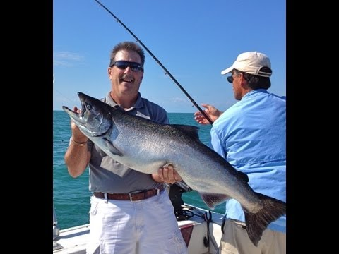 Lake Ontario Salmon Fishing Charters with ReelSilver Charters