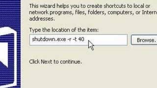 Create a shutdown, restart, or logoff shortcut on desktop