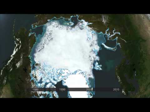 2012-03-15 - ESA - ARCTIC ICE COVER DECREASE, 1978-2010 TIMELAPSE ANIMATION