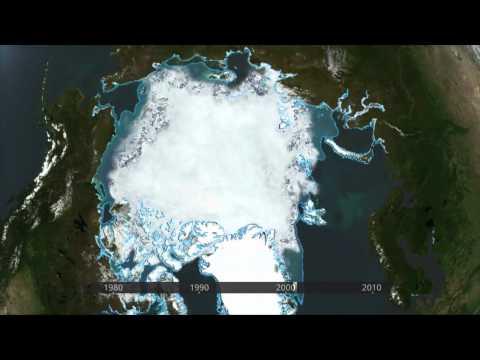 2012-03-15 - ESA - ARCTIC ICE COVER DECREASE, 1978-2010 TIMELAPSE ANIMATION