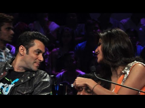 Salman Khan and Shilpa Shetty conversation on the sets of Nach...