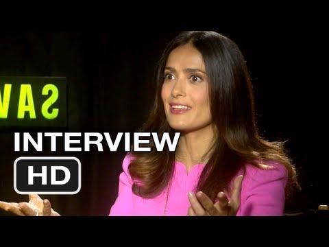 Savages Interview - Blake Lively & Salma Hayek (2012) HD