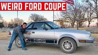I BOUGHT The WEIRDEST Ford Coupe Ever Made *The Ford EXP*
