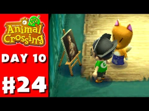 Animal Crossing: New Leaf - Part 24 - Real Art? (Nintendo 3DS Gameplay Walkthrough Day 10)