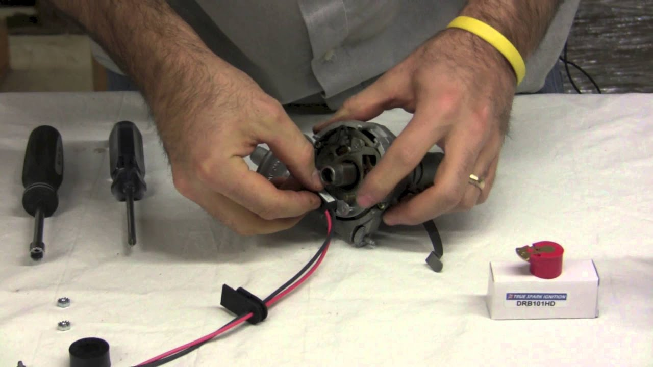 pertronix ignitor install lucas 25d4 distributor youtube