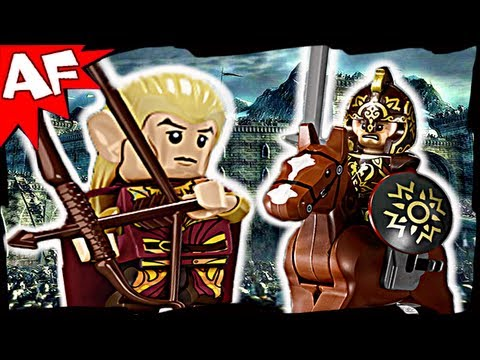 Lego Lord of the Rings BATTLE of HELM'S DEEP 9474 Animated Building Review