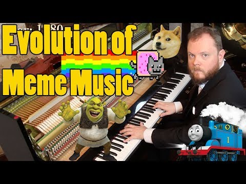 Evolution of Meme Music (1500 AD - 2018 ) Vídeos de zueiras e brincadeiras: zuera, video clips, brincadeiras, pegadinhas, lançamentos, vídeos, sustos