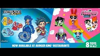 Beyblade Burst and Powerpuff Girl Toys at Burger King For June 2019 King Jr. Kids' Meals!