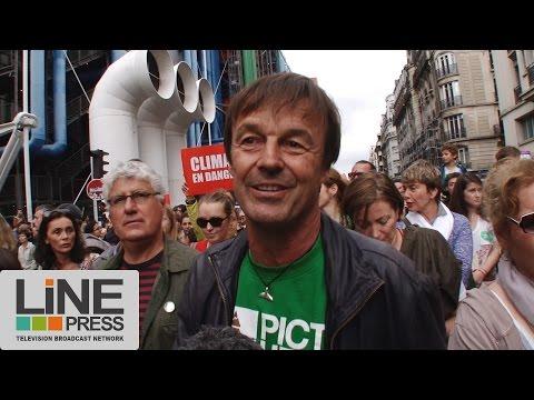 Marche internationale festive pour le climat / Paris - France 21 septembre 2014