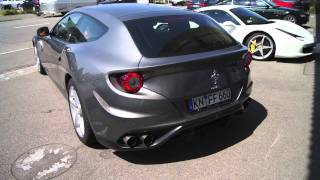 Ferrari FF Engine Start Up