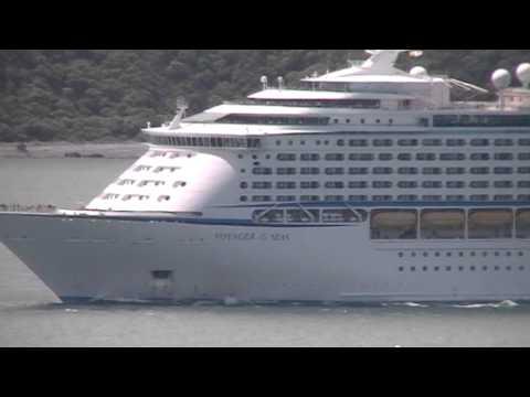Cruise Ship Voyager Rough Seas Cruise Ship Voyager of The