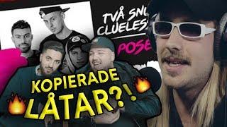 SVENSKA Rappare/YouTubers som KOPIERAT sina låtar?! [ft Filip Dikmen]