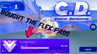 creative destruction season 2 flex pass