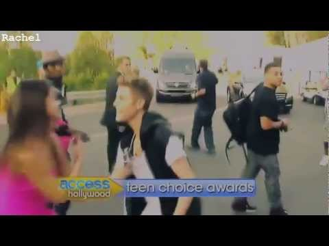 Justin Bieber and Selena Gomez (Jelena 2012)