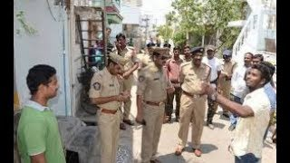 Police Cordon Search Operation in Hyderabad, 36 Bikes and 4 Autos Seized