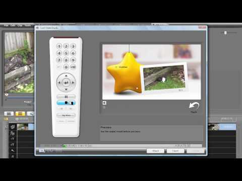Corel Video Studio Pro X2 Tutorial. Creating a DVD Video Disc