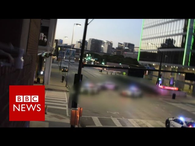 "Dallas Police Shooting: ""There's a sniper out there""BBC News"