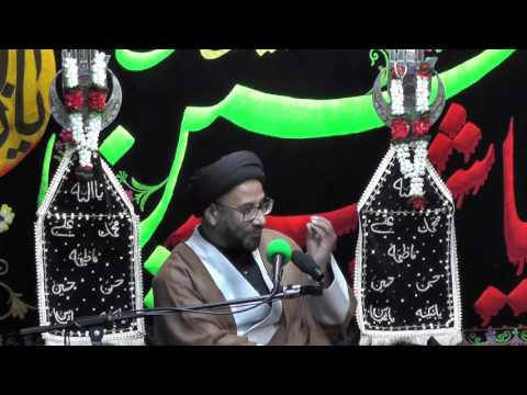 Majlis-Night Of 8th Muharram 1438 By Maulana Syed Moosa Raza Naqvi In Darbar-e-Masoomeen.