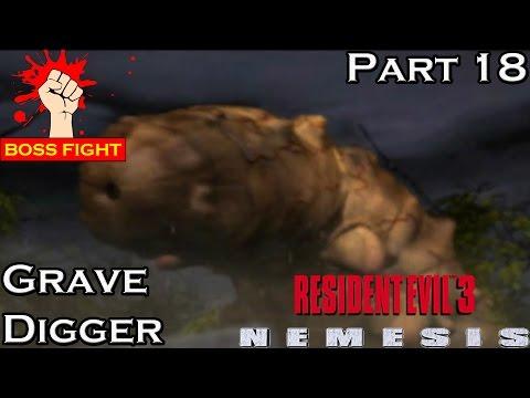 Resident Evil 3 - Part 18 - BOSS - Giant Worm