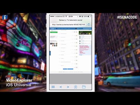 VideoExplorer, reproduce películas y series online #iOS