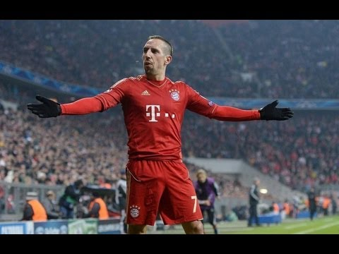 Franck Ribery Top 10 Goals Ever HD