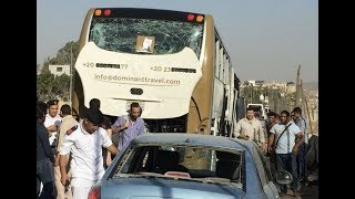 Bomb Hits Tourist Bus Near Egypt's Giza Pyramids, Injuring 17