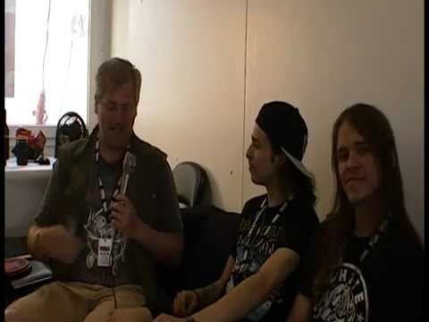 Video Interview: Lost Society Tuska 2014