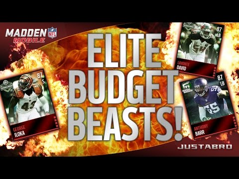 ELITE BUDGET BEASTS! Ep.2 (Defense) - Madden Mobile 16