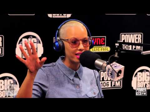 Amber Rose Tells Us How To Mix Motherhood w/ Work