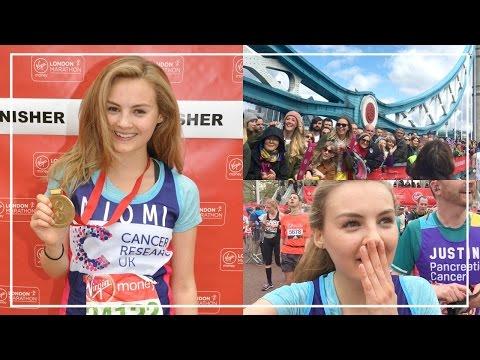 RUNNING LONDON MARATHON & Paula Radcliffe Interview