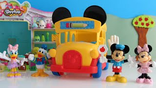 Mickey Mouse Clubhouse Toys - Mickey Mouse Clubhouse Slidin School Bus PLUS Mini Episode