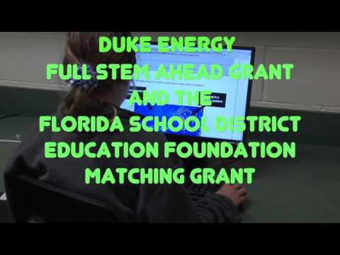 Duke Energy and the State of Florida School District Education Foundation   Thank You from Davenport