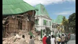 Today Worknews Haiti Earthquake Port-au-prince Damaged Government Buildings Un Minustah