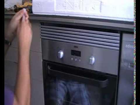 Como pegar el vidrio del horno
