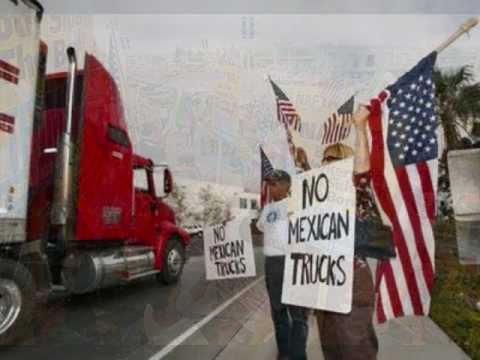 NAFTA + Mexican Trucks = MORE Unemployment!